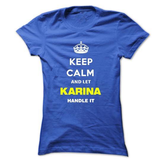 Keep calm and love Karina Hoodie